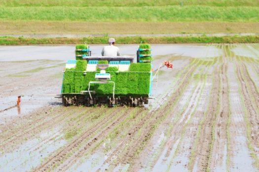 田植え機の不具合とその処置方法